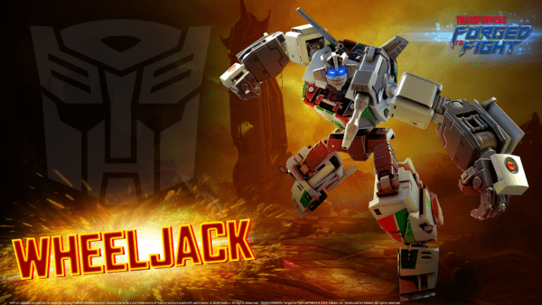 Wheeljack comes to Transformers: Forged to Fight