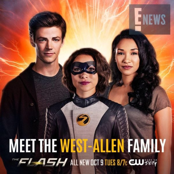 Meet the west allens with new poster for the flash season 5 after outthinking the thinker youd hope that barry allen aka the flash grant gustin might have some down time to contemplate his future with his new m4hsunfo
