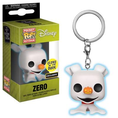 Nightmare Before Christmas 25 Year Anniversary Funko Mystery Mini Figure Zero