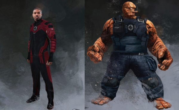Concept art from Tim Miller's Deadpool 2 features the return of the Fantastic Four