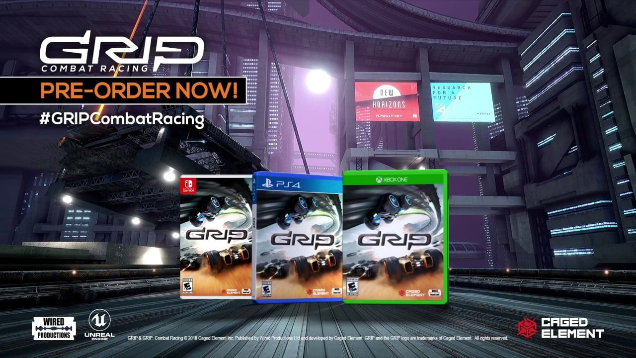 New Swift 2018 >> GRIP: Combat Racing gets a release date and new trailer