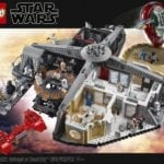 LEGO Star Wars Betrayal at Cloud City set unveiled