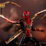 The Iron Spider joins Iron Studios' Avengers: Infinity War Battle Diorama series