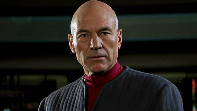 Patrick Stewart readying for Picard return as he shares photo from Star Trek wri...