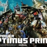 Transformers: Revenge of the Fallen Jetpower Optimus Prime statue unveiled by Prime 1 Studio