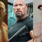 Exclusive: Dave Bautista on whether there's any acting rivalry between himself, Dwayne Johnson and John Cena