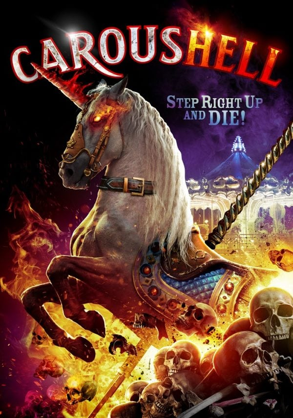 a killer carousel unicorn is out for revenge in trailer