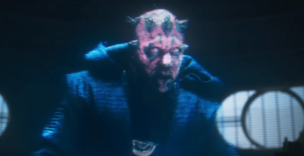 Darth Maul Solo scene