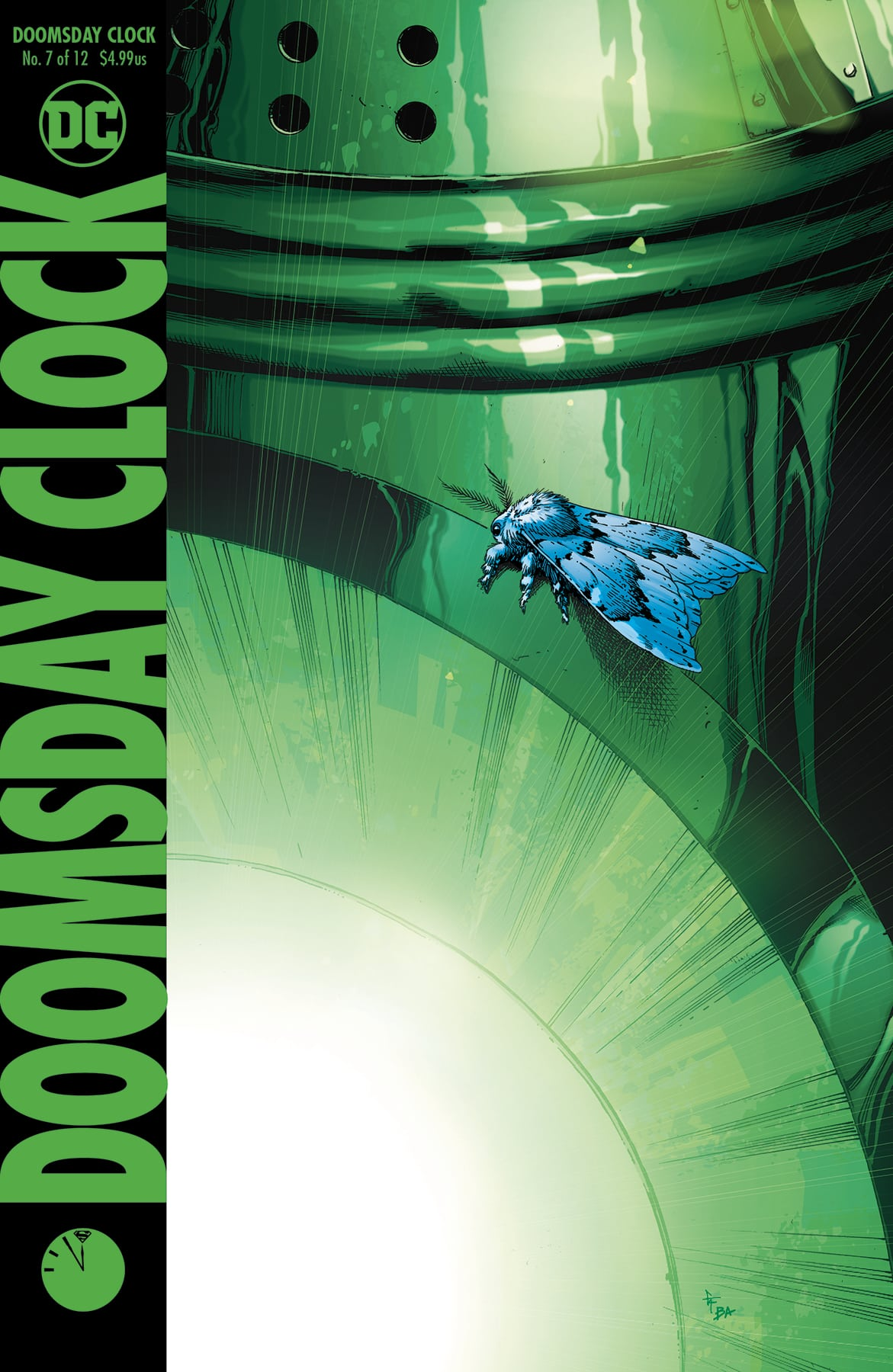 Comic Book Review Doomsday Clock 7