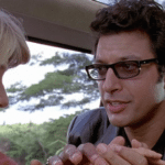 Jeff Goldblum was almost completely cut from Jurassic Park