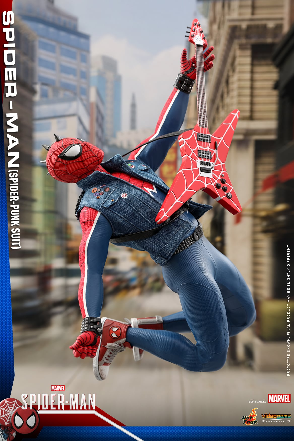 Spider-Punk Gets A Video Game Masterpiece Series Figure -7838