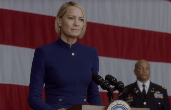 'House of Cards' trailer introduces powerful President Underwood