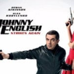 Rowan Atkinson and Olga Kurylenko featured on new Johnny English Strikes Again poster