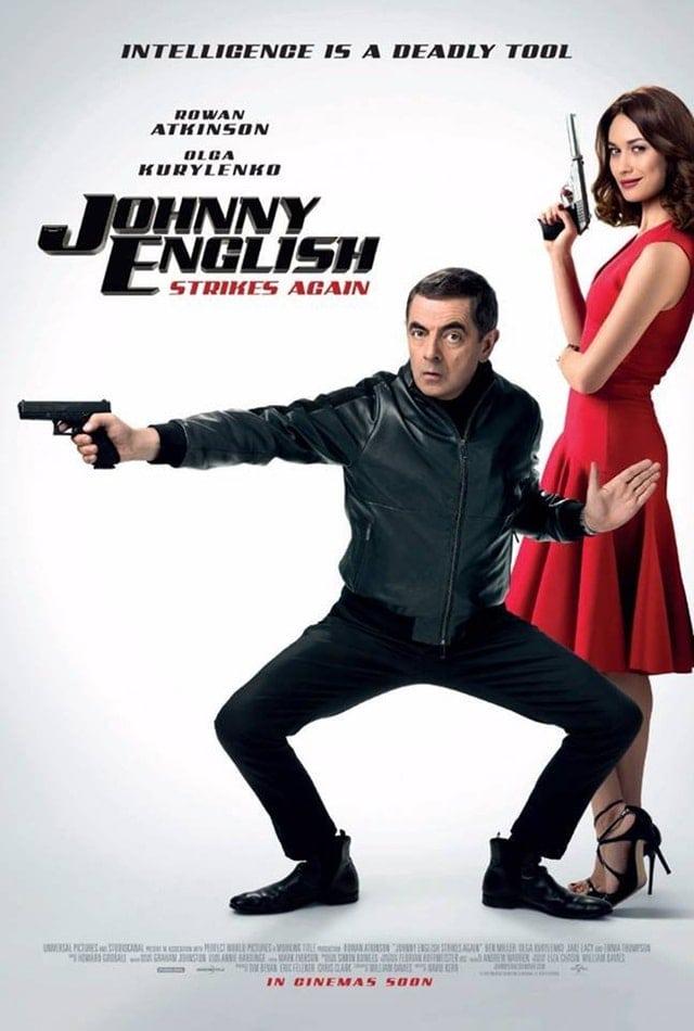 Movie Review - Johnny English Strikes Again (2018)