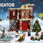 LEGO unveils the Creator Winter Village Fire Station set