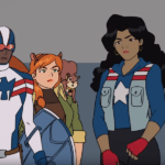 Squirrel Girl, Quake, Patriot and America Chavez featured in Marvel Rising: Secret Warriors clip