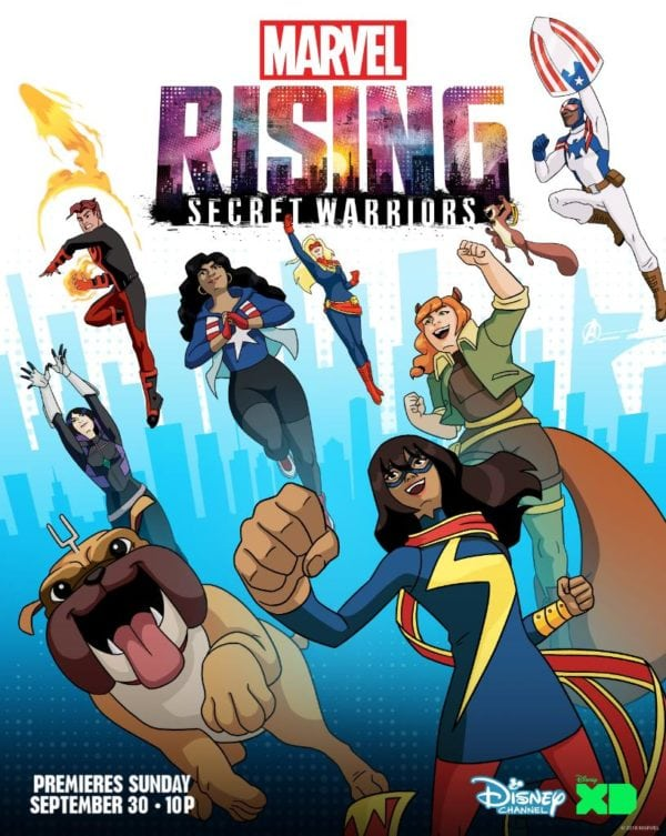 Marvel Rising: Secret Warriors gets a poster and trailer