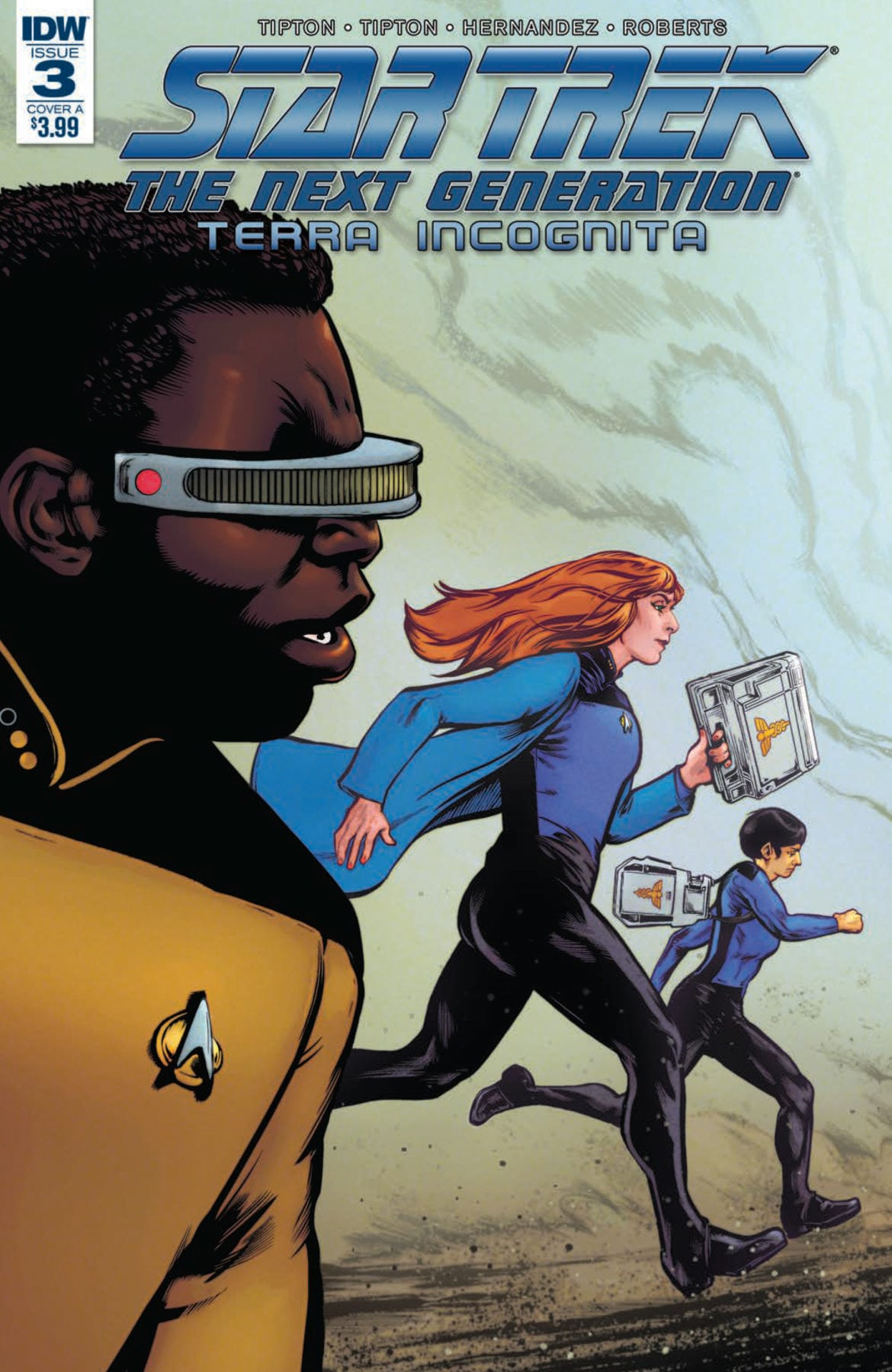 Preview of Star Trek: The Next Generation: Terra Incognita #3