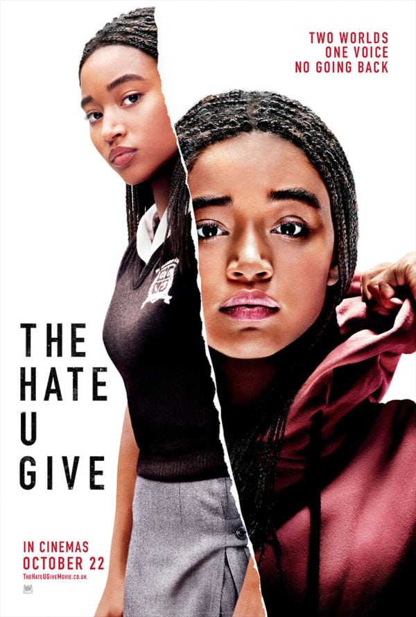 Resultado de imagem para the hate u give poster