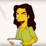 Gal Gadot guest stars in clip from The Simpsons season 30 premiere