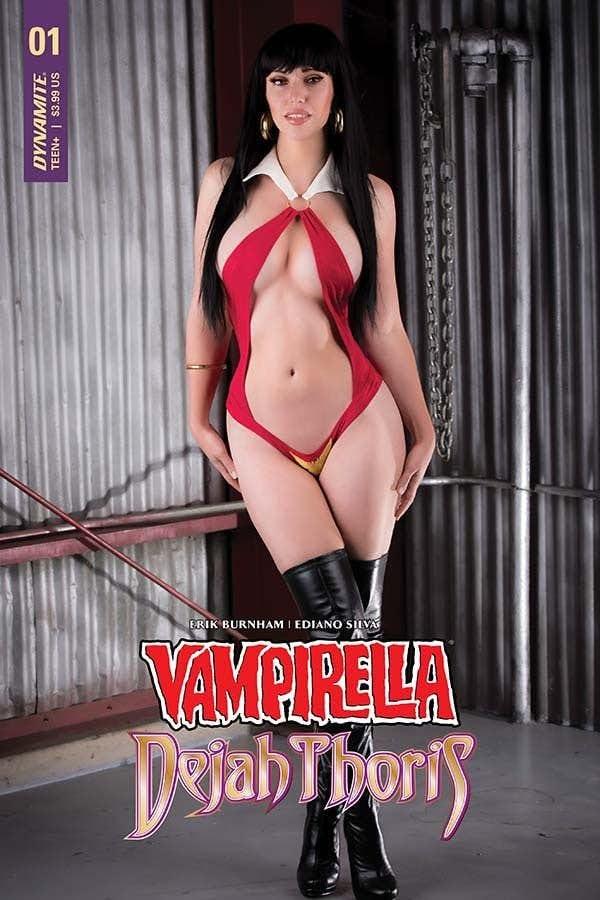 Preview of Vampirella/Dejah Thoris #1