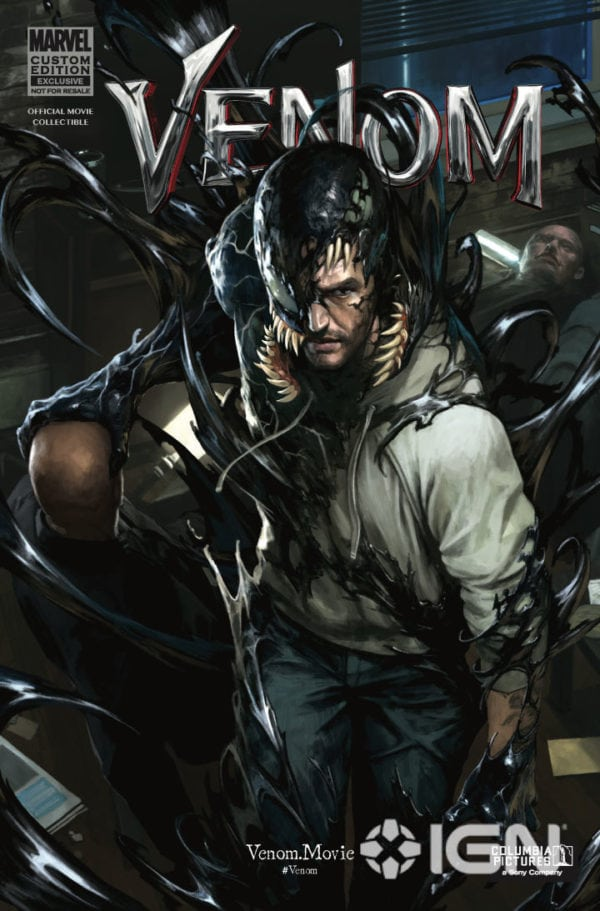 marvel releases free venom movie tie in comic read it here. Black Bedroom Furniture Sets. Home Design Ideas
