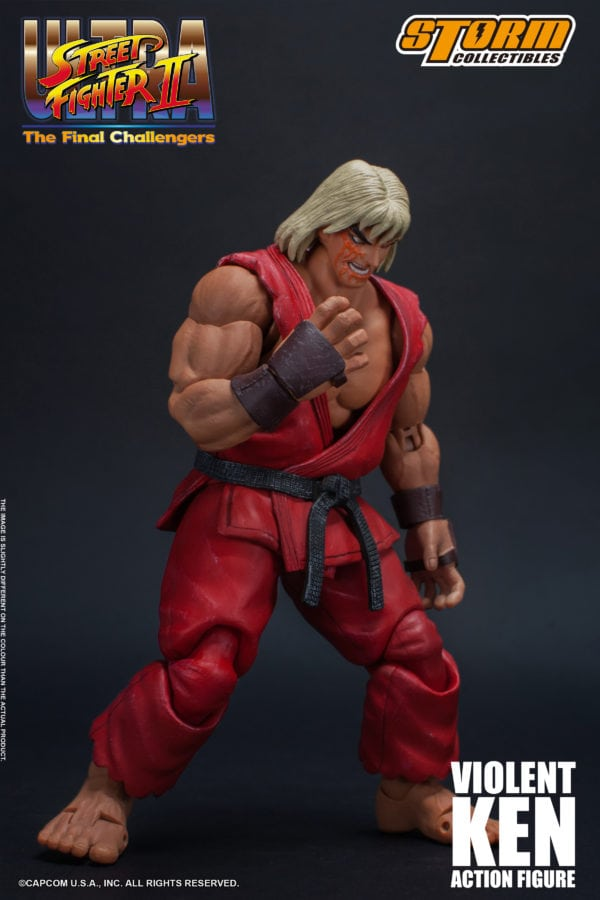 Ultra Street Fighter Ii The Final Challengers Violent Ken Gets A