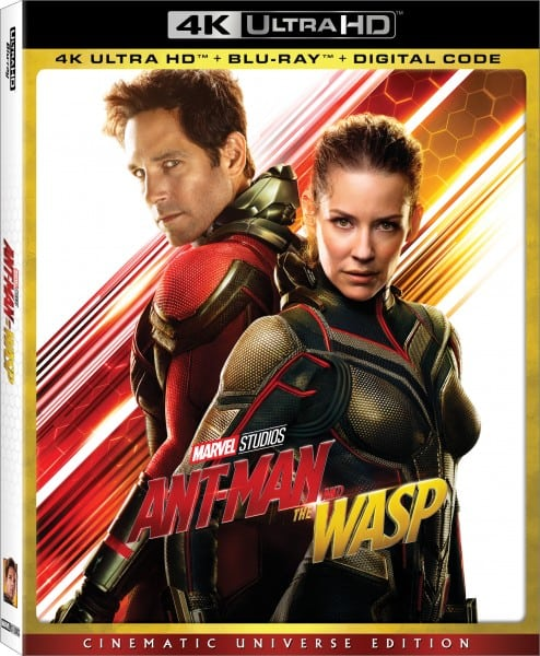 Marvels Ant Man And The Wasp 4k Blu Ray And Dvd Special Features