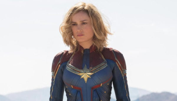 Captain Marvel Trailer Coming Next Tuesday