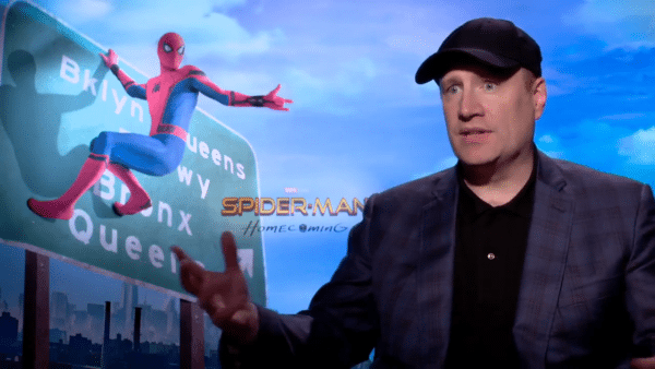 Image result for kevin feige spider man