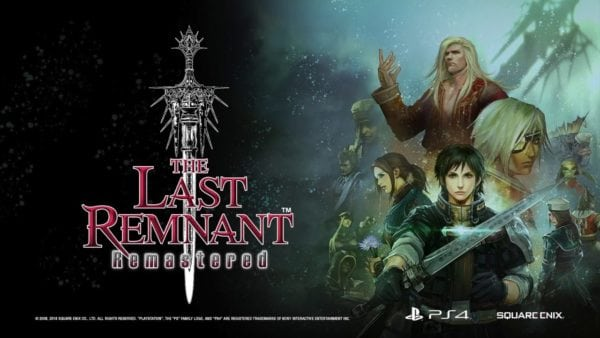 The Last Remnant Remastered coming to Playstation 4 this December