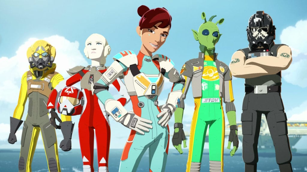 Meet The Aces in new Star Wars Resistance featurette