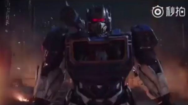 Bumblebee teaser offers look at classic designs for Optimus Prime and Soundwave