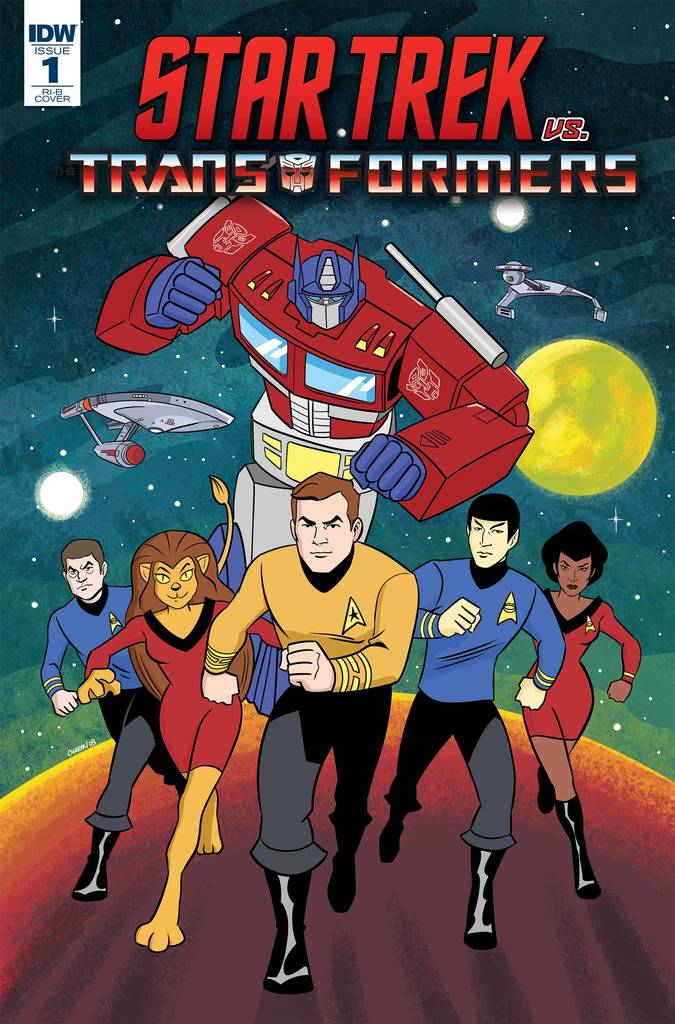 Comic Book Review - Star Trek vs. Transformers #1
