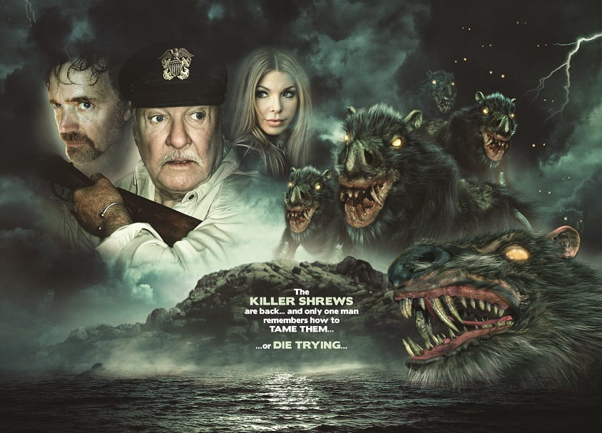 Creature feature Return of the Killer Shrews gets a poster and trailer