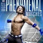 AJ Styles: Most Phenomenal Matches 3-disc collection set for release in November