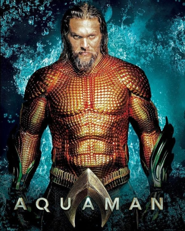 Promo Poster Shows Jason Momoa's Aquaman In His Classic