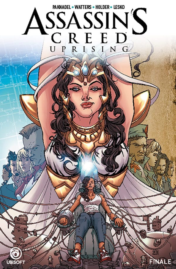 Comic Book Review Assassin S Creed Uprising Vol 3