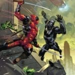Preview of Black Panther vs. Deadpool #1
