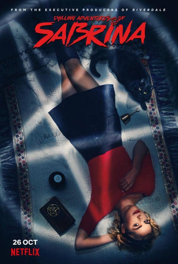 Резултат с изображение за chilling adventures of sabrina poster