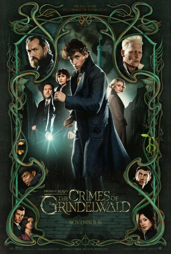 Movie Review - Fantastic Beasts: The Crimes of Grindelwald (2018