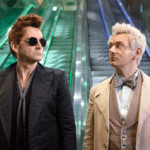 First images from Neil Gaiman's Good Omens featuring David Tennant, Michael sheen and Jon Hamm