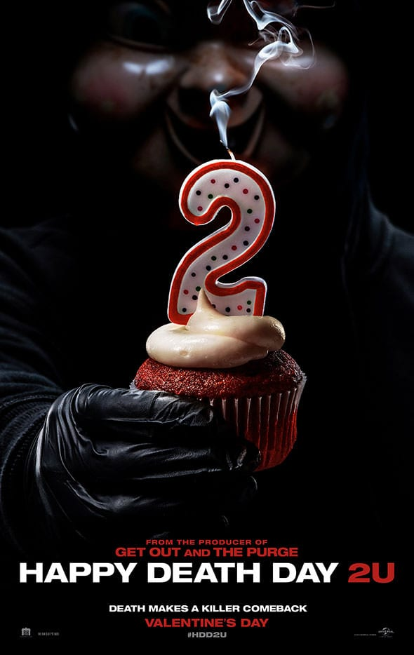 First poster for Blumhouse horror sequel Happy Death Day 2U