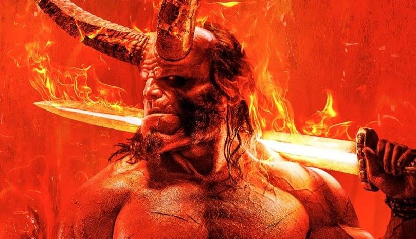 Movie Poster 2019: First Hellboy Poster Is Legendary AF