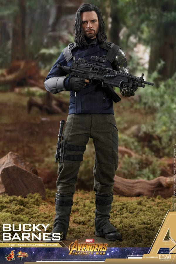 Bucky Barnes gets an Avengers: Infinity War Movie Masterpiece Series figure from Hot Toys
