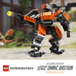 Limited edition LEGO Overwatch Omnic Bastion available now