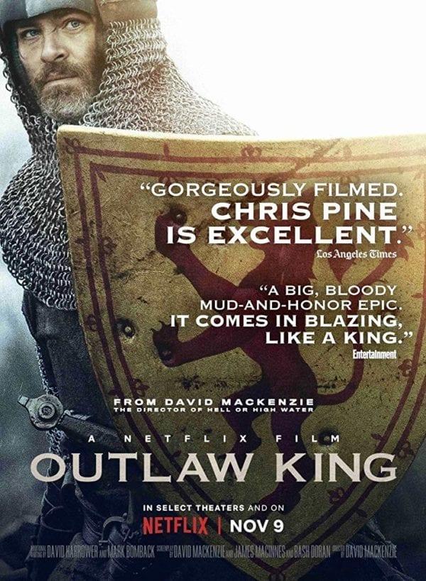 Znalezione obrazy dla zapytania outlaw king poster