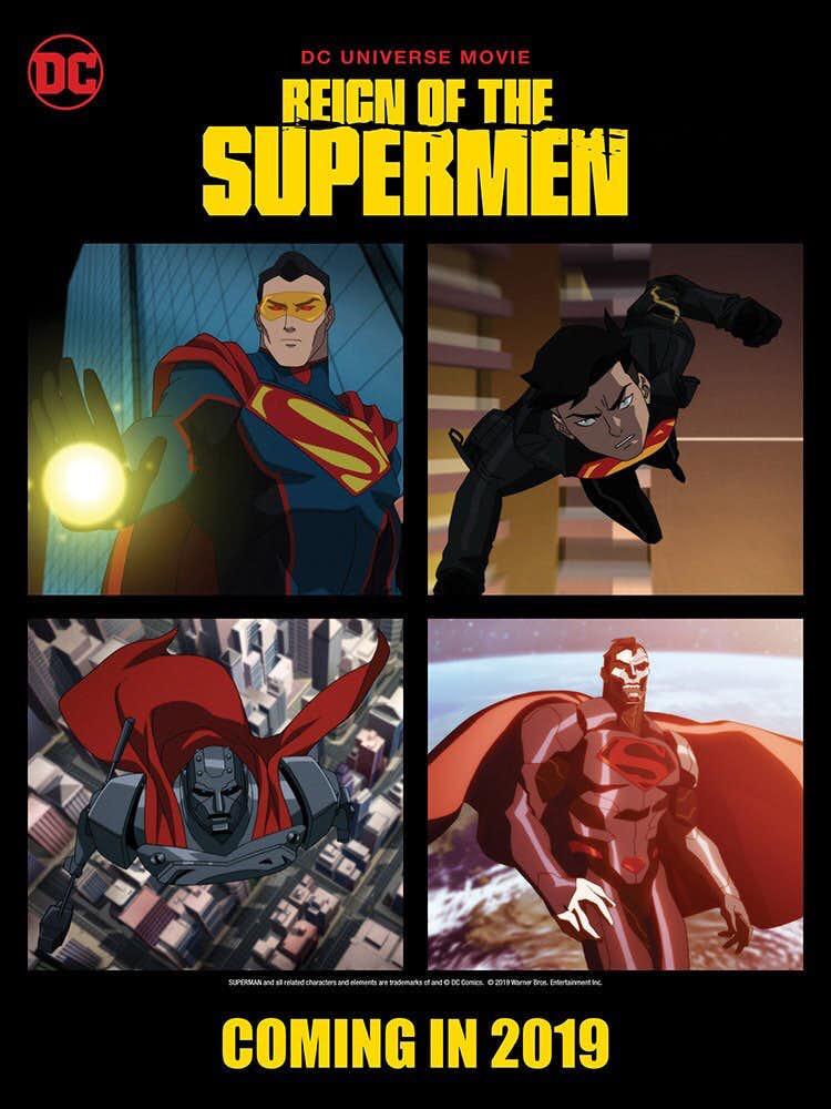 Reign of the Supermen poster features Eradicator, Superboy ... Green Lantern Movie Poster