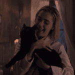Sabrina meets Salem in clip from Chilling Adventures of Sabrina
