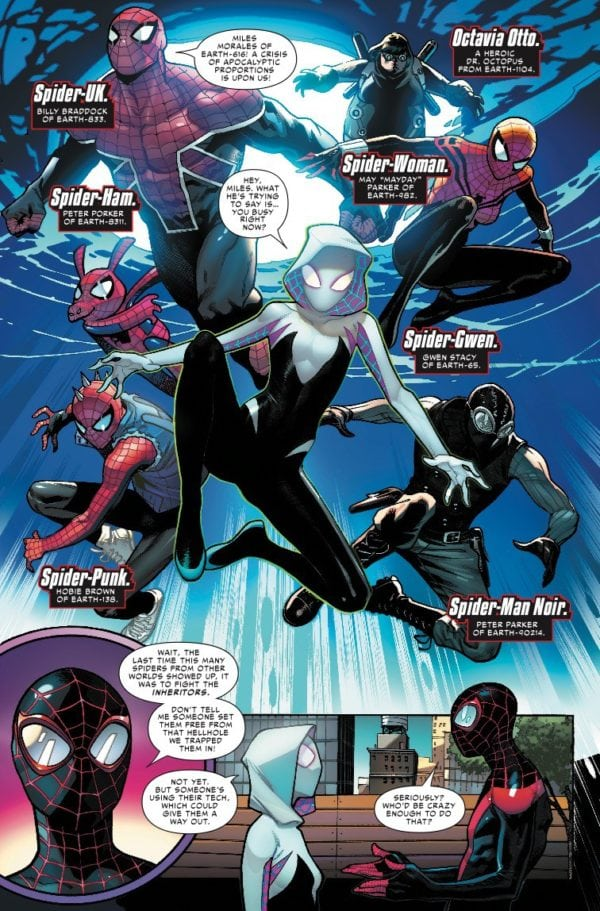 preview of marvels spidergeddon 1